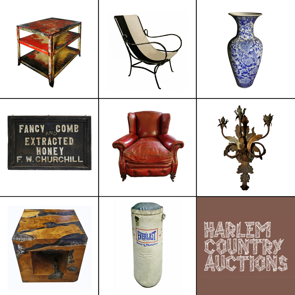 Harlem COuntry Auction at Demolition Depot