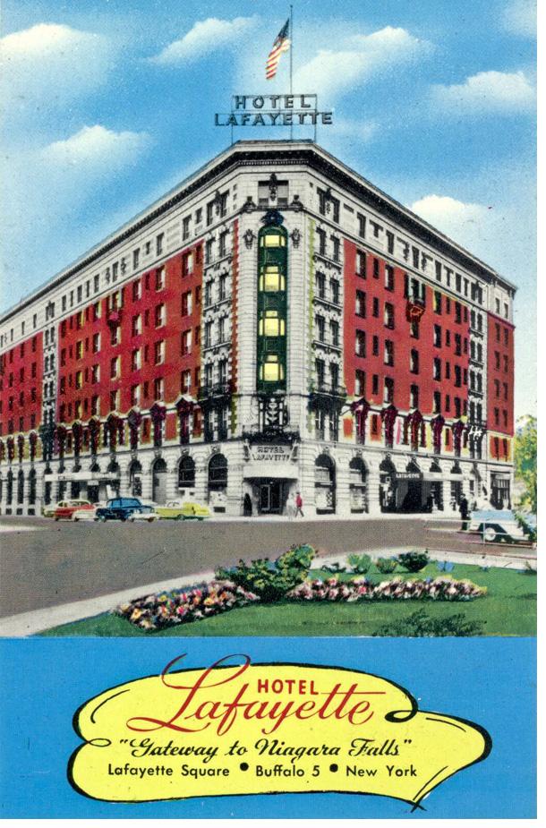 Hotel Lafayette in Buffalo, NY
